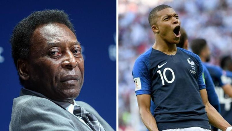 Football : Kylian Mbappé rencontre le roi Pelé ce mardi