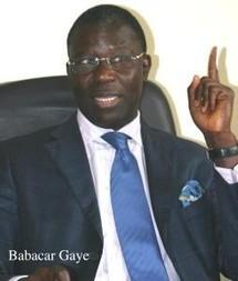Présidentielle 2012 : Babacar Gaye espère une caution assez élevée pour dissuader les candidatures farfelues