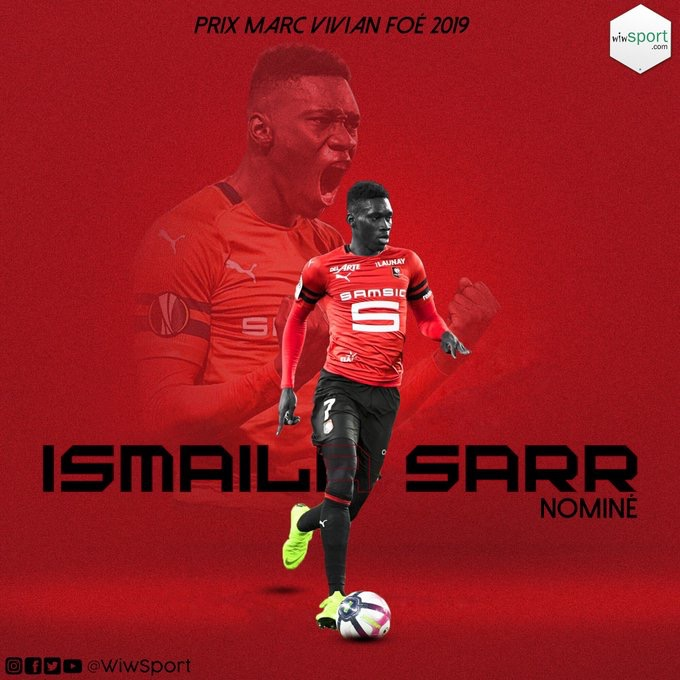 Ismail Sarr nominé pour le titre de meilleur jeune joueur africain de l'annee