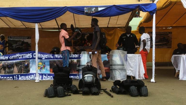 RCA: opération séduction des forces de sécurité à Bangui