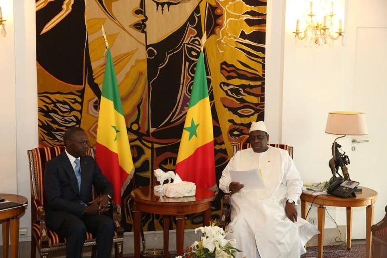 Palais de la République: Boun Abdallah Dionne a remis la lettre de démission du gouvernement