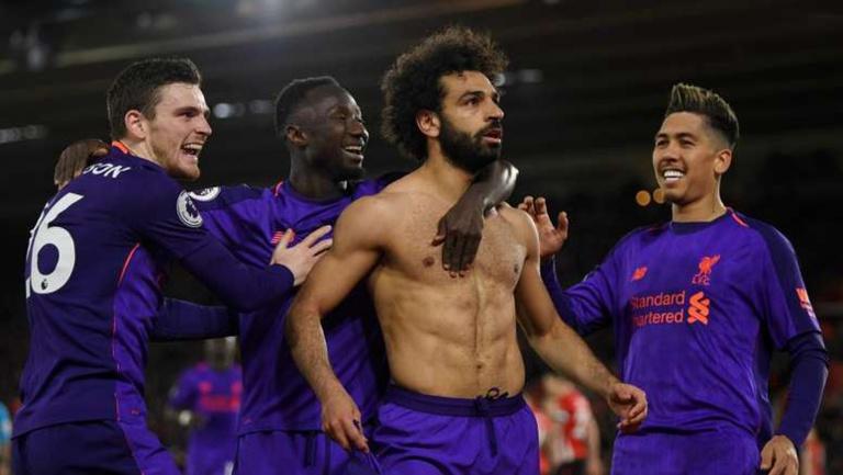 Mohamed Salah libère Liverpool, qui reprend sa 1ère place