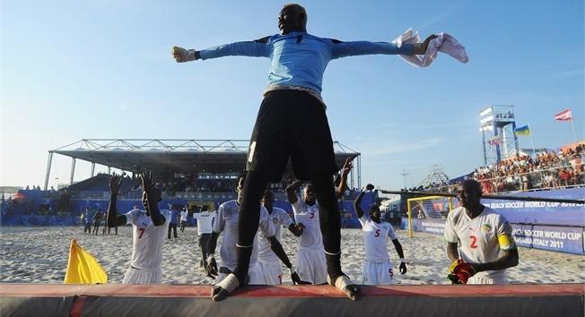 Gardien de l'équipe du Sénégal Beach soccer: Al Seyni Ndiaye, jeune vétéran plein d'espoir