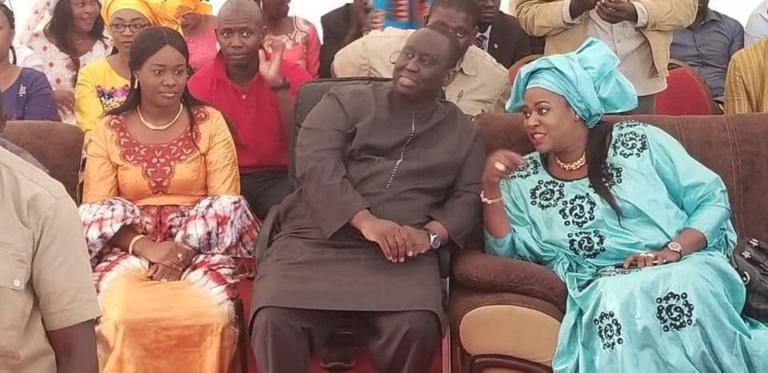Fatoumata Néné Tall à gauche