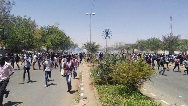 Manifestation au Soudan : affrontements entre les forces armées à Khartoum