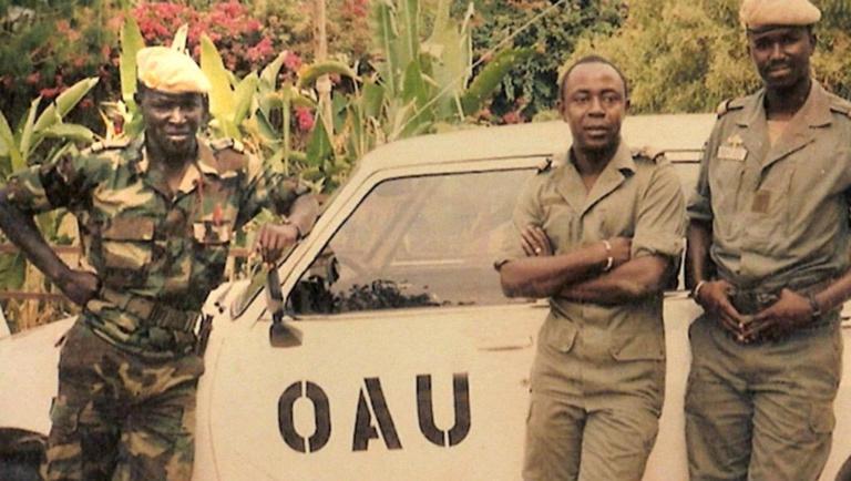 L'histoire méconnue de Mbaye Diagne, casque bleu sénégalais au Rwanda
