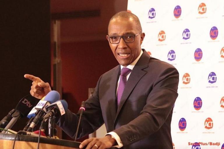 Suppression du poste de Premier ministre: « Ce n'est qu'une fable », affirme Abdoul Mbaye