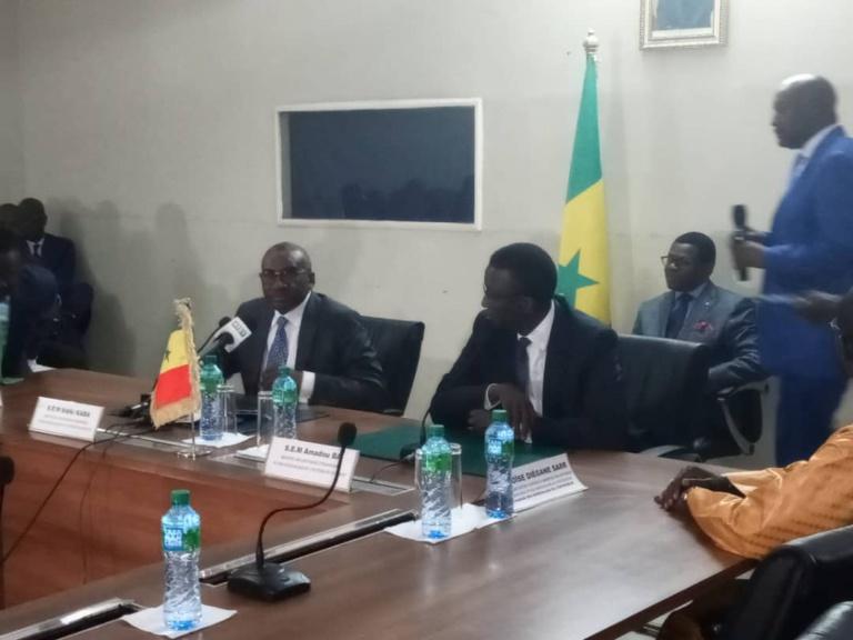 Ministère des Affaires étrangères : Me Sidiki Kaba passe le témoin à Amadou Ba
