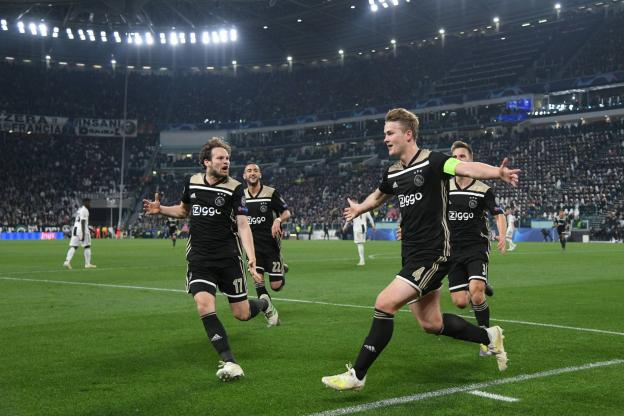 """Ligue des Champions: les """"bébés"""" de l'Ajax éliminent la Juventus de Cristiano Ronaldo et filent en demi-finale"""