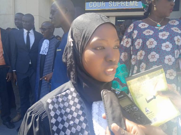 Zeynabou Mbengue Wade, première femme sénégalaise à accéder à être admise à la Cour des comptes