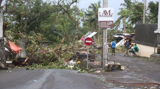 Le cyclone Kenneth menace l'Afrique de l'Est