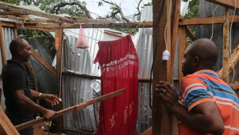 Les Comoriens sous le choc après le passage du cyclone Kenneth