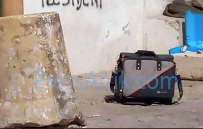 Valise suspecte au Centre ville de Dakar : La panique qui mobilise un impressionnant dispositif sécuritaire (Images)
