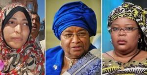 Sincères félicitations aux trois Lauréates du Prix Nobel de la Paix   2011!