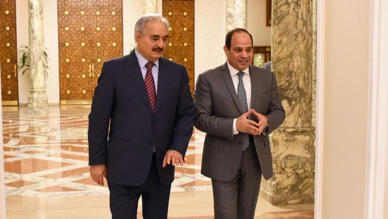 Libye: Khalifa Haftar en visite au Caire pour la 2e fois en moins d'un mois