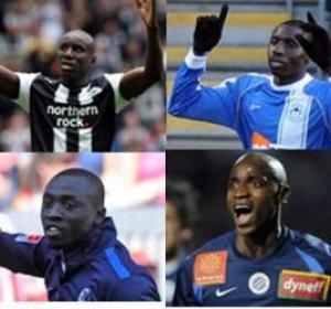 Papiss D. Cissé, Mohamed Diamé, Demba Bâ et Souleymane Camara buteurs dans leur club