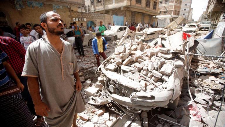 Mortelles frappes aériennes de la coalition sur la capitale yéménite, Sanaa