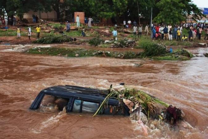 Inondation à Bamako : 15 morts et d'importants dégâts matériels