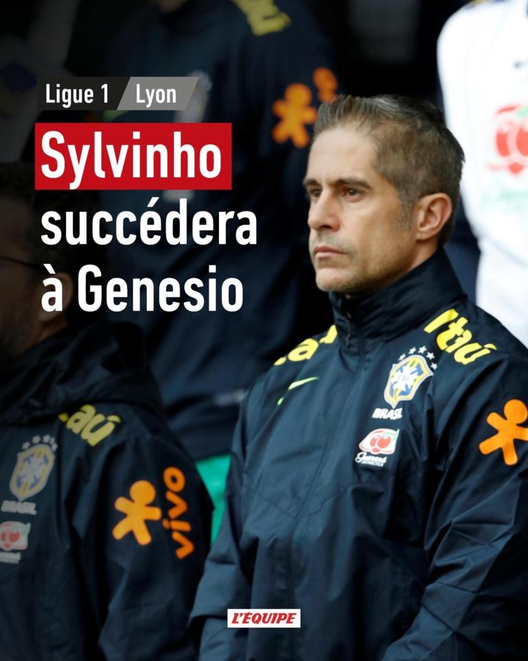 Olympique Lyonnais: Sylvinho remplace Genesio