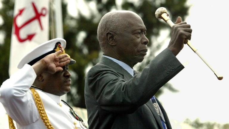 Kenya: l'ex-président Daniel Arap Moi condamné pour accaparement de terre