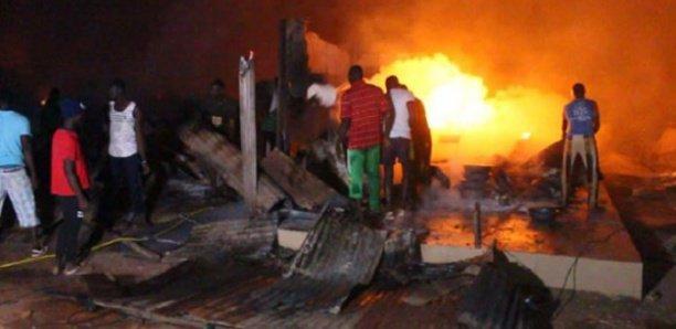 Incendie au Marché de poissons de Pikine: Des millions F CFA partis en fumée