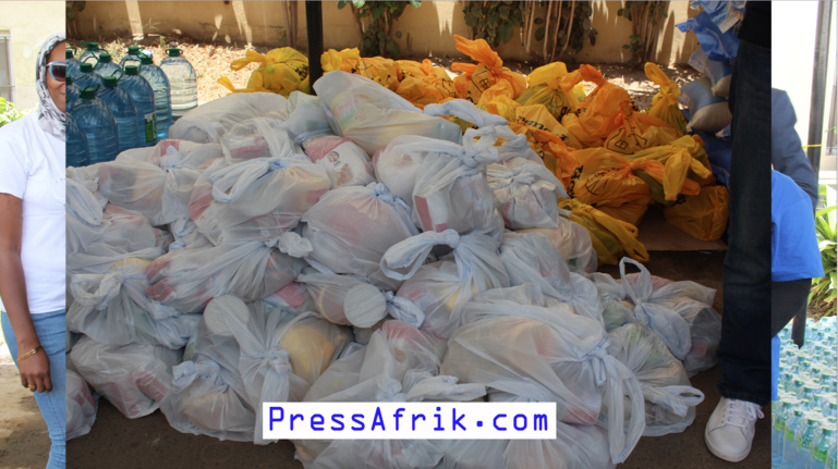 Vidéo - Sénégal: No Stress Land distribue une ration alimentaire à 200 familles