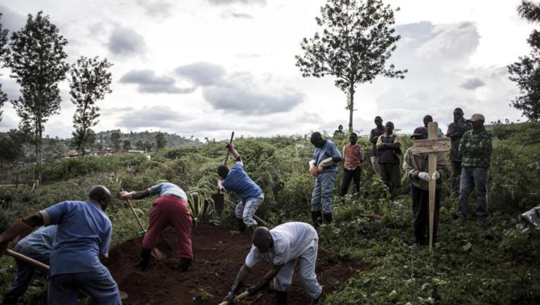 Ebola: le constat pessimiste d'un responsable de l'OMS après une visite en RDC