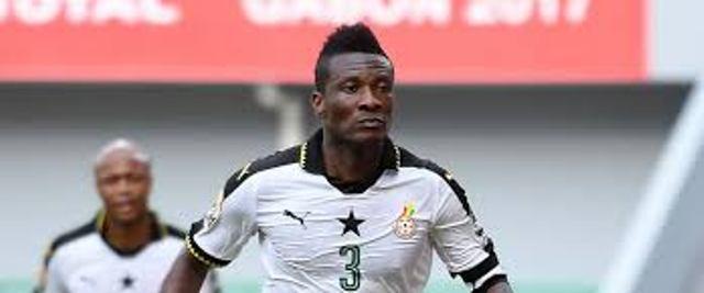 Asamoah Gyan, l'actuel capitaine du Ghana quitte la sélection