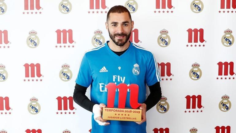 Réal Madrid: Karim Benzema élu meilleur joueur de la saison