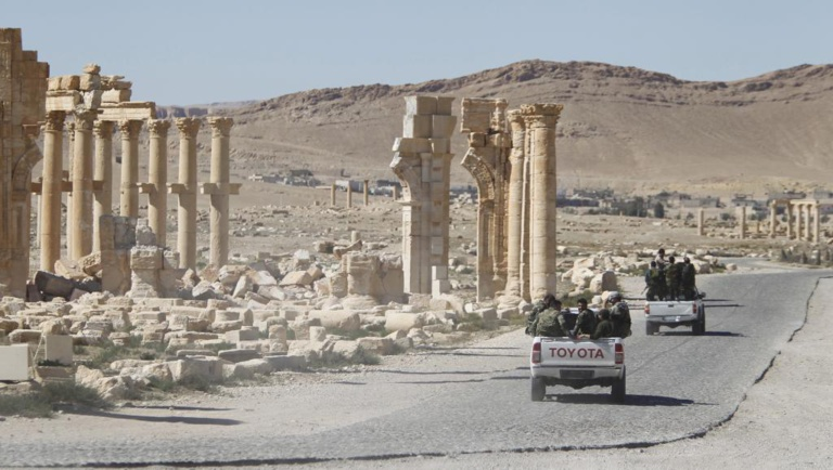Nouvelle embuscade du groupe EI dans l'est de la Syrie