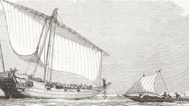 """Alabama: l'épave du """"dernier navire négrier américain"""" retrouvée"""