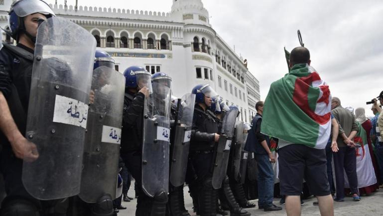 Algérie: impressionnant dispositif de sécurité pour cette nouvelle mobilisation