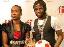Football : Gervinho reçoit le premier prix RFI/Marc-Vivien Foé
