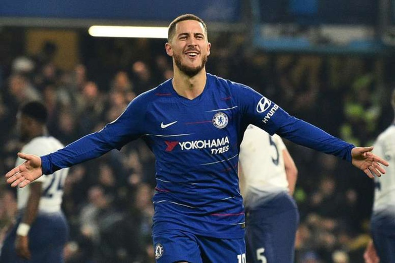 Chelsea demande 150 millions d'euros pour Hazard