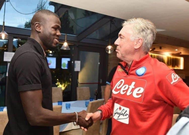 """Naples : Ancelotti catégorique """"Koulibaly ne partira pas"""""""