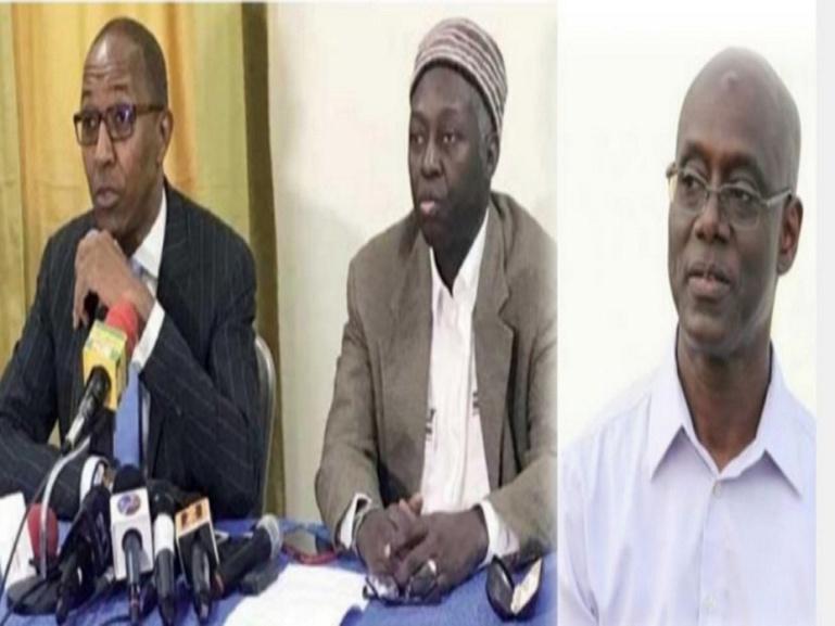 Dialogue national: les griefs de Abdoul Mbaye, Mamadou Lamine Diallo et Thierno Alassane Sall
