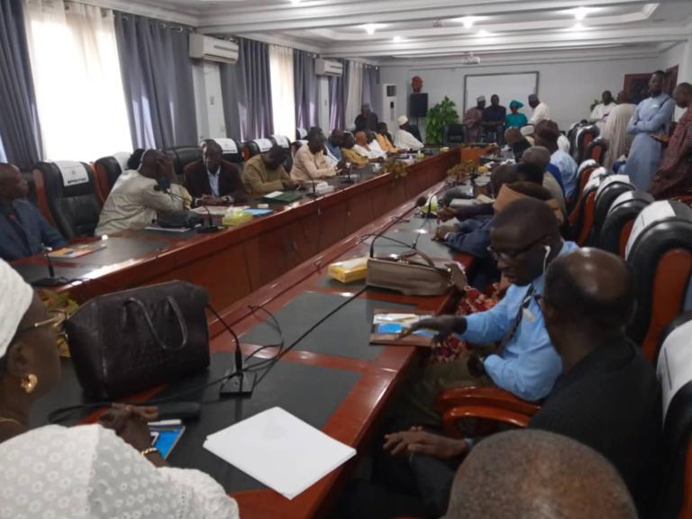 Installation de la Commission du cadre de concertation : Ali Ngouille Ndiaye dope le Général Niang et sa bande