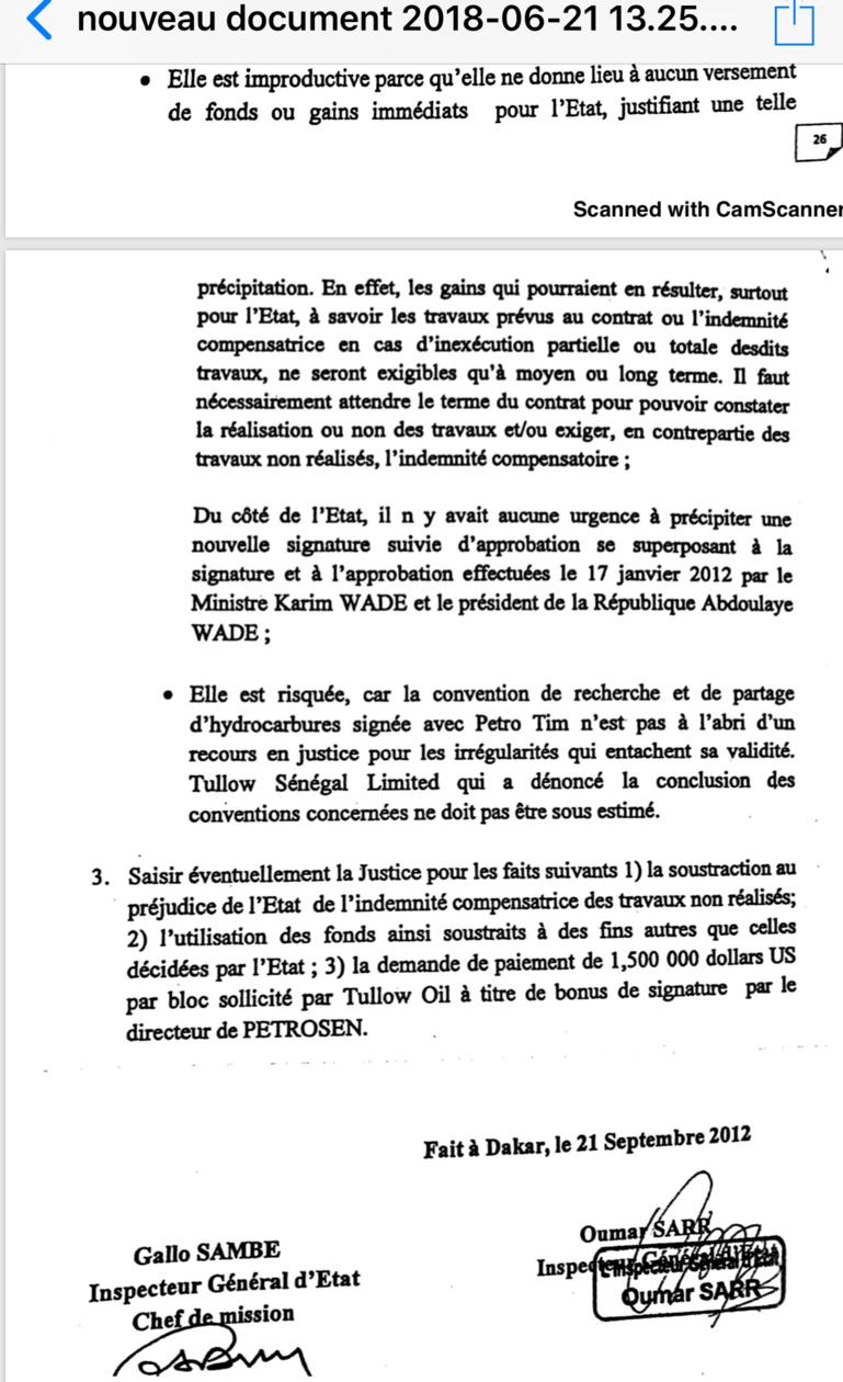 EXCLUSIF ! Les conclusions du rapport accablant de l'IGE qui enfonce Aly Ngouille Ndiaye et dément El Haj Kassé