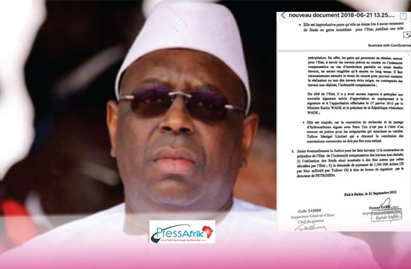 Le Président Macky Sall a bel et bien reçu ce rapport polémique, révèle Ngouda Fall Kane ancien inspecteur de l'IGE