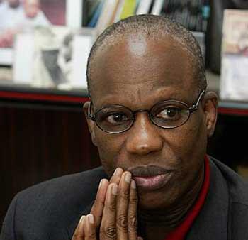Amadou Lamine Sall, lauréat du prix international européen de poésie