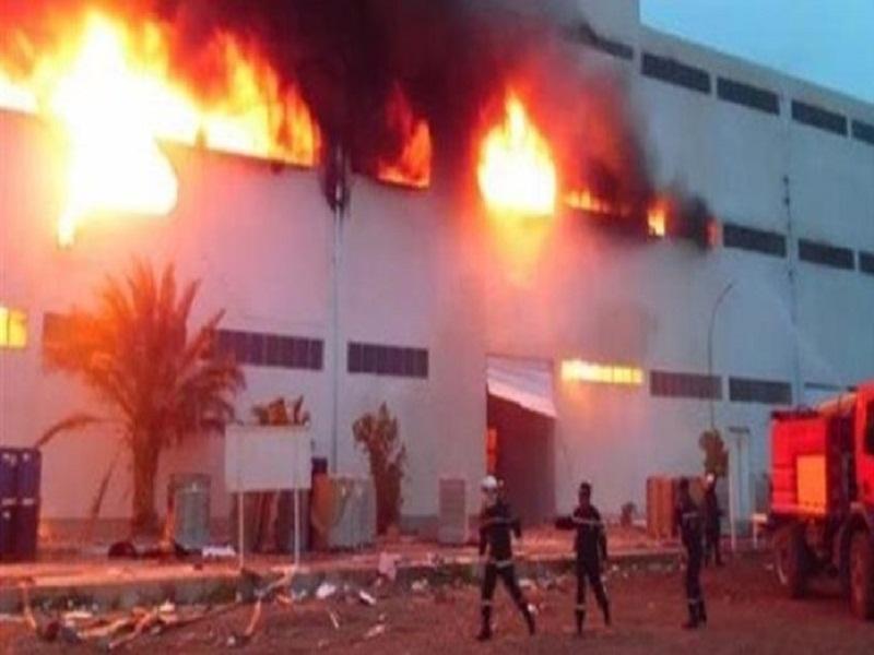 Dernière minute - Un incendie à l'usine de recyclage de plastiques de Keur Ndiaye Lô