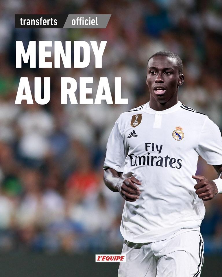 Officiel ! Ferland Mendy signe au Réal Madrid