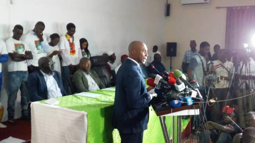 """Bonne gouvernance: """"On est loin des ruptures promises par (Macky Sall)"""", affirme Bathélémy Dias"""
