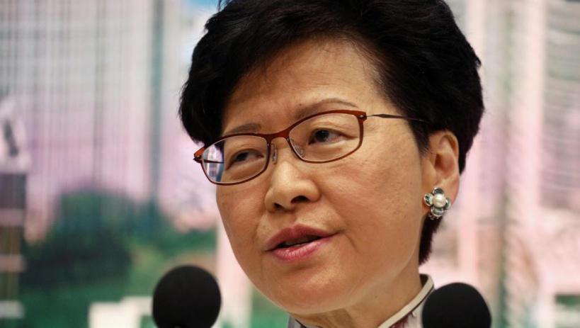 Hong Kong: la cheffe de l'exécutif suspend son projet de loi sur l'extradition