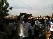 Manifestation du mouvement M23 à Tambacounda dans l'est du Sénégal (RFI)