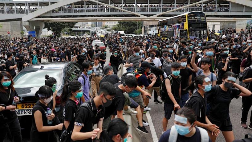Hong Kong: nouvelle mobilisation contre la loi sur les extraditions