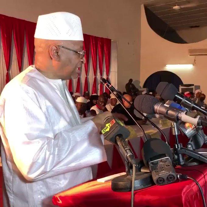 Mali: l'ex-Premier ministre démissionnaire Boubeye Maïga fait sa rentrée