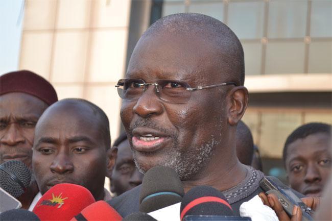 """Démission: """"Aliou Sall n'a fait que renforcer la détermination des citoyens"""", selon l'ancien porte-parole du PDS Babacar Gaye"""
