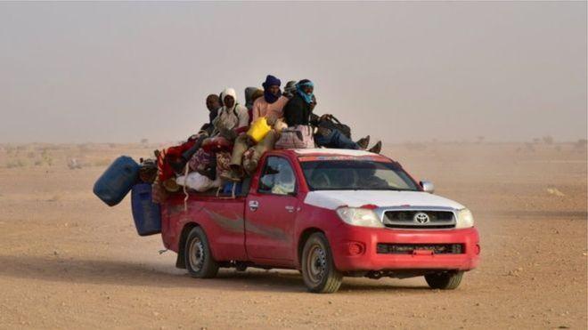 Niger : 20 000 migrants secourus dans le désert en 3 ans