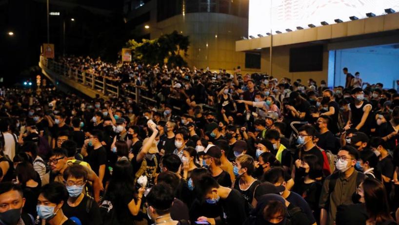 Hong Kong: les manifestants veulent alerter la communauté internationale